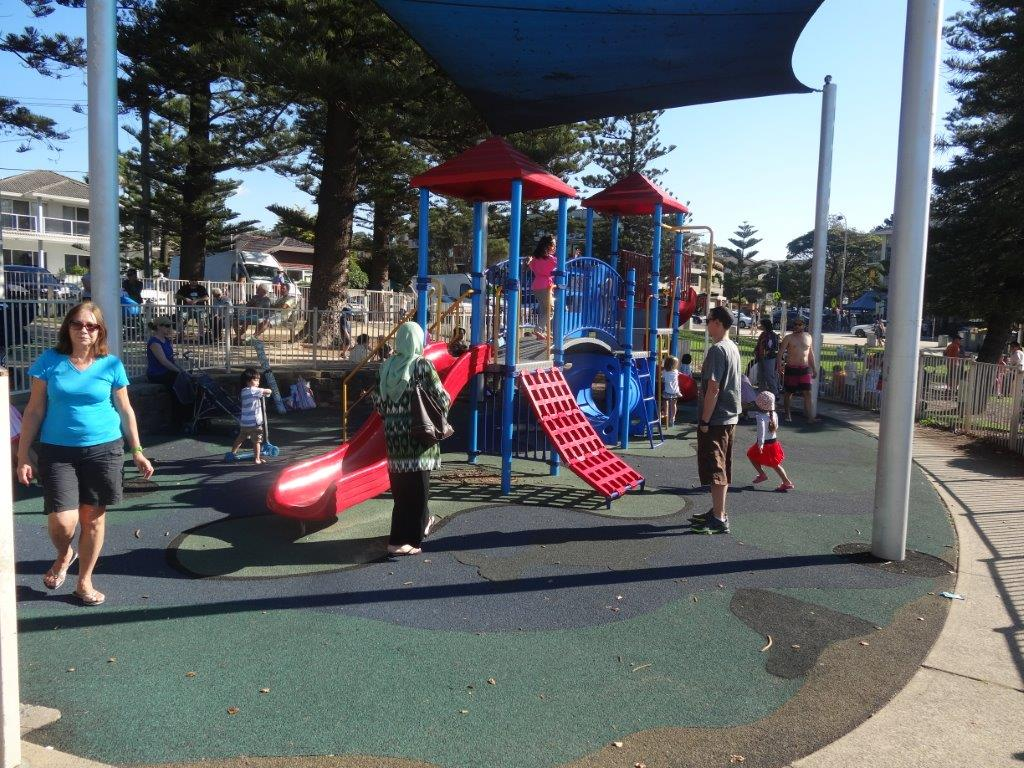 Playground at Dee Why Beach