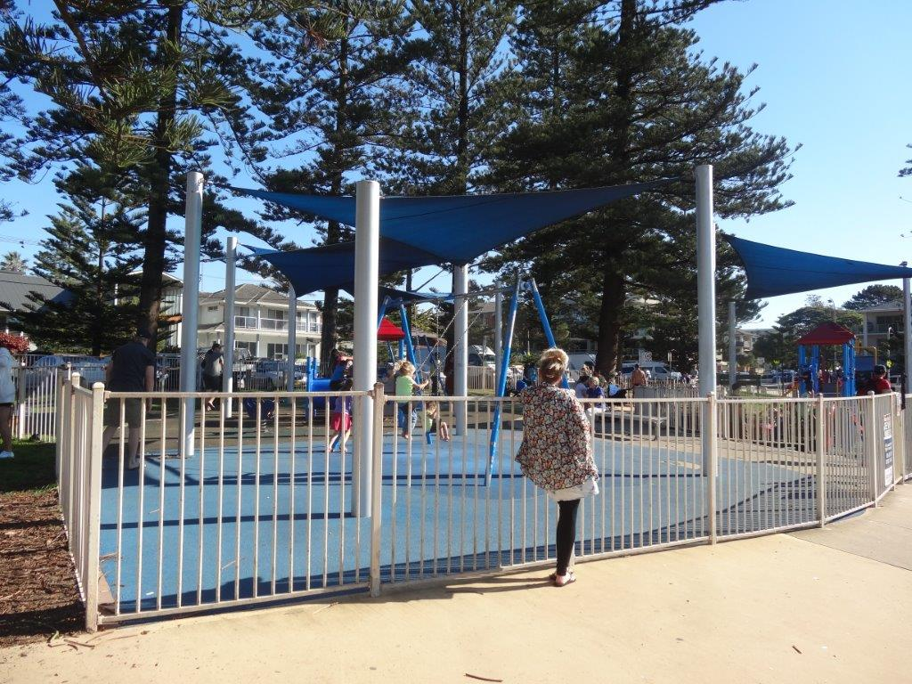 Fully Fenced Playground at Dee Why