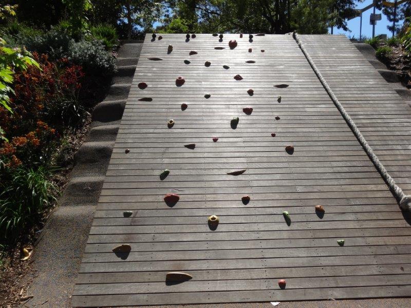 Parramatta Riverside Park climbing wall
