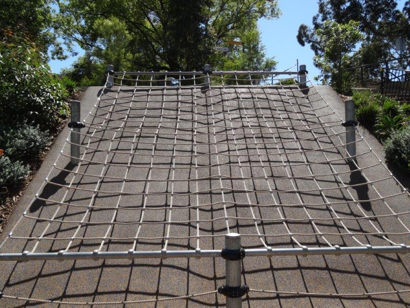 Parramatta Riverside Park scramble-net