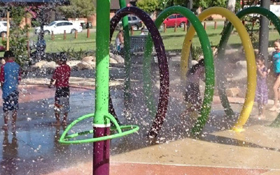Phillip Ruddock Water Playground – New Waterpark in Dundas the kids will LOVE