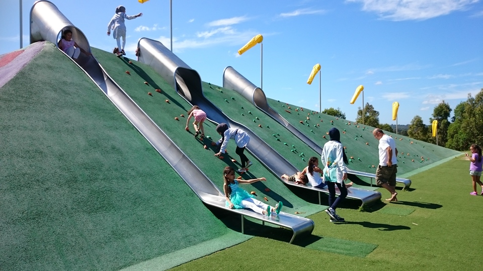 These slides are so cool