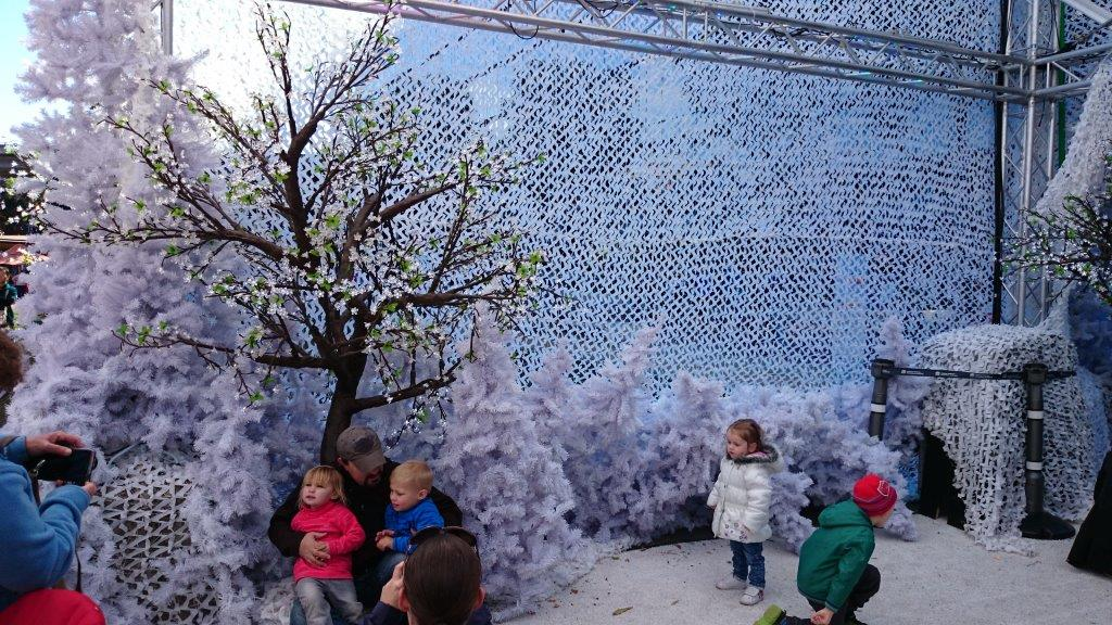 Cool Yule Frozen Forest at Darling Harbour