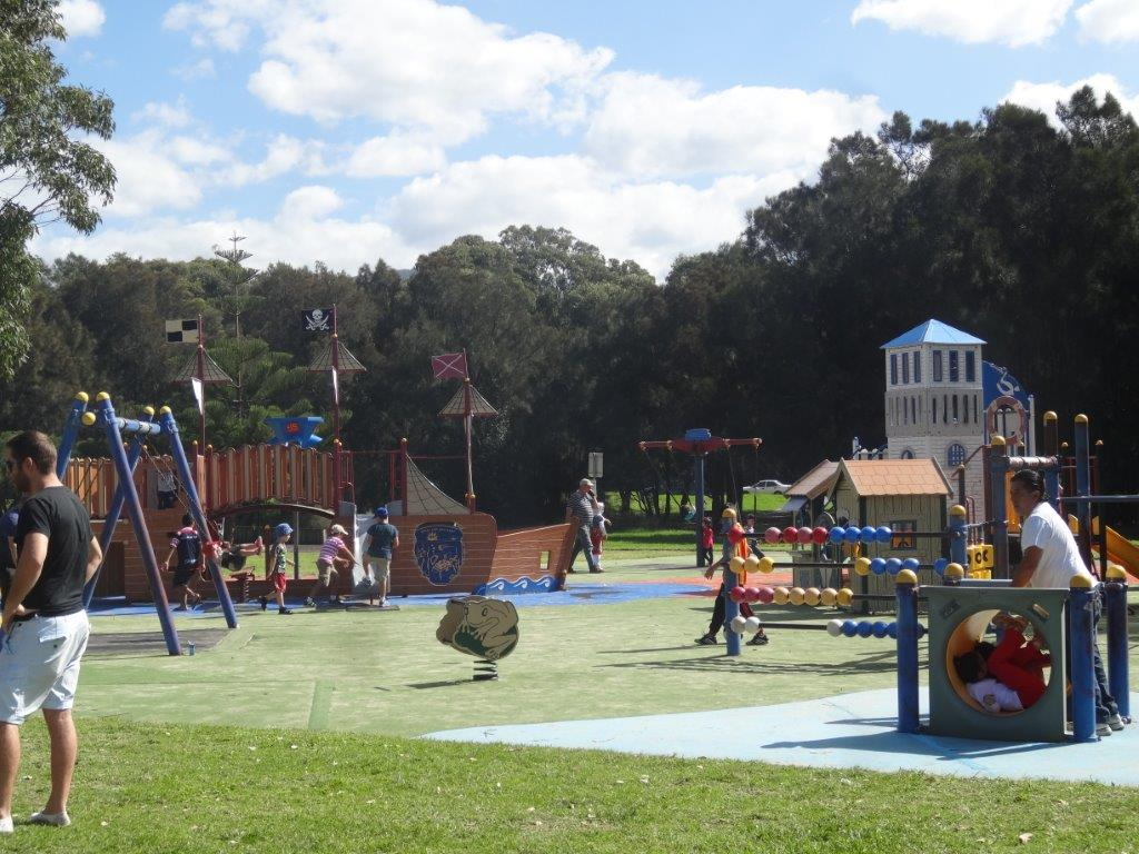 Huge Playground at Stuart Park