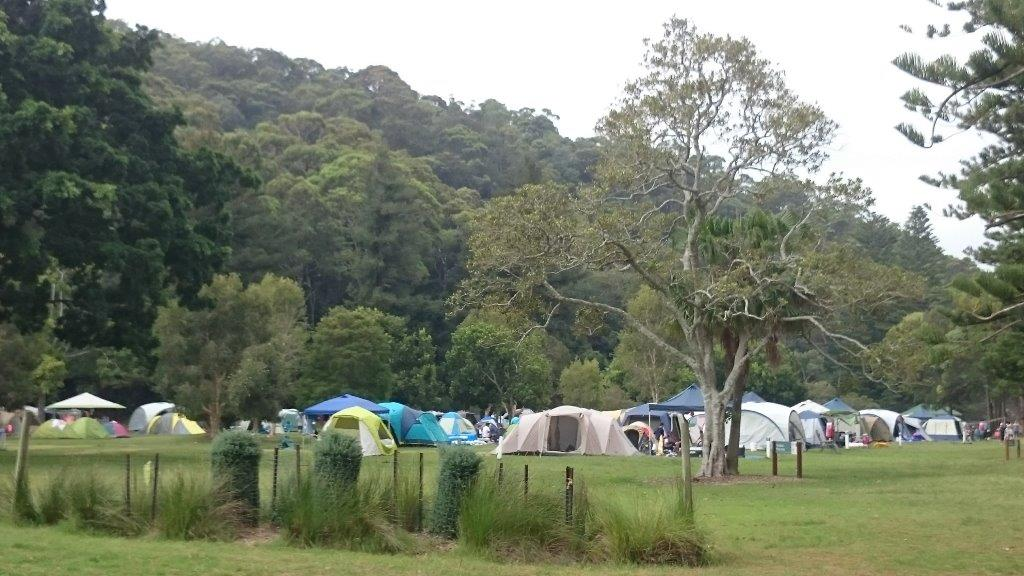 The Basin Camp ground