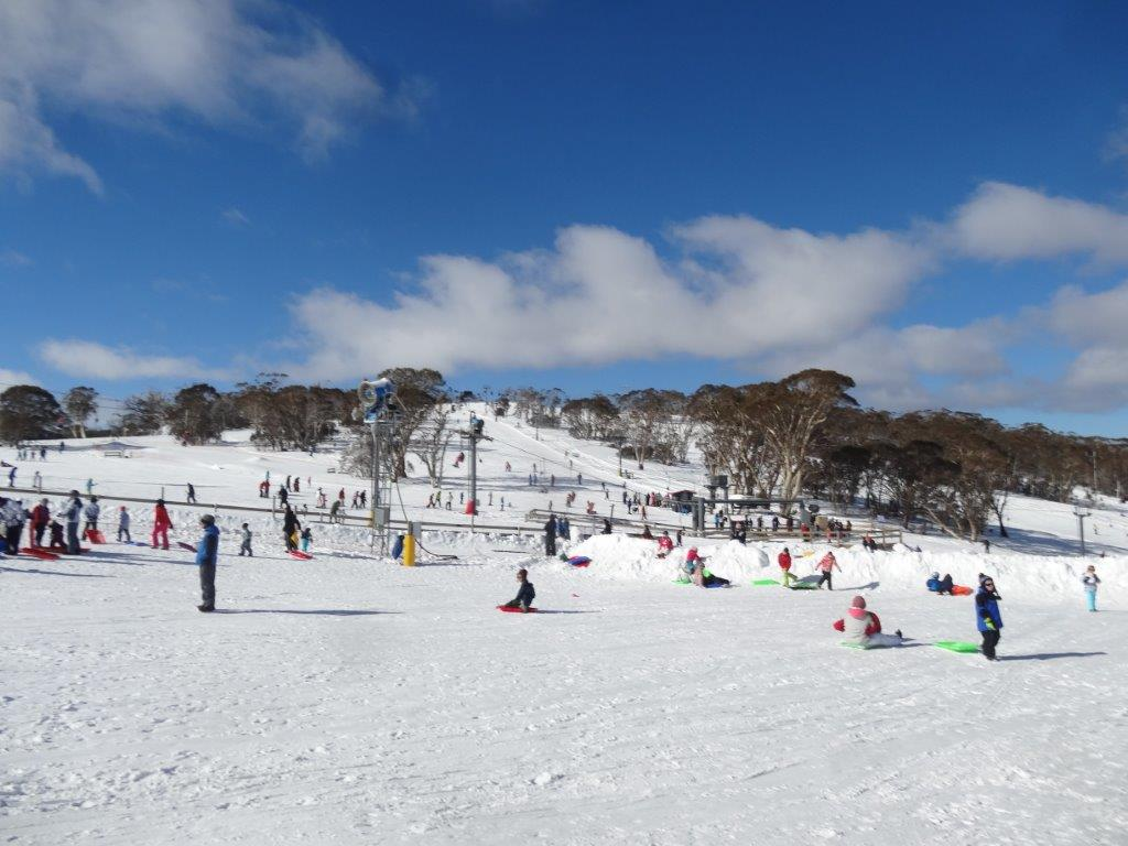 Toboggan Park at Mt Selwyn