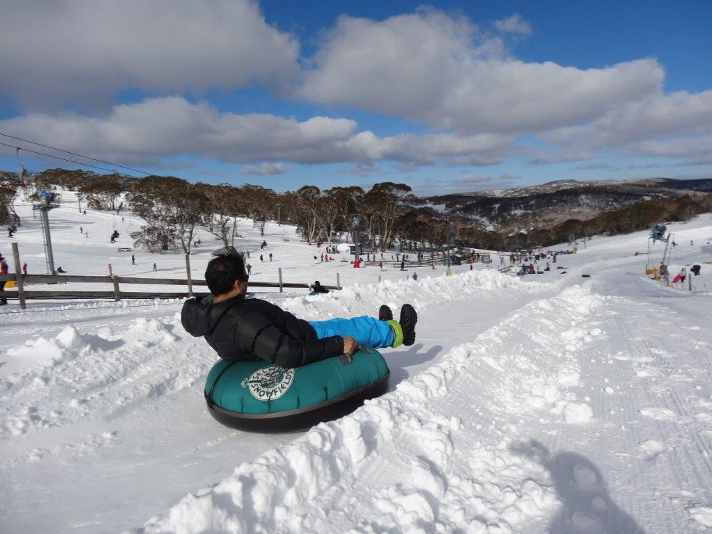 Snowtube park at Mt Selwyn