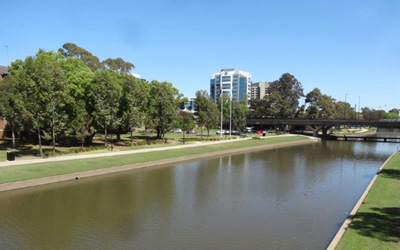 Parramatta Riverside Park – Great views and a brand new play area