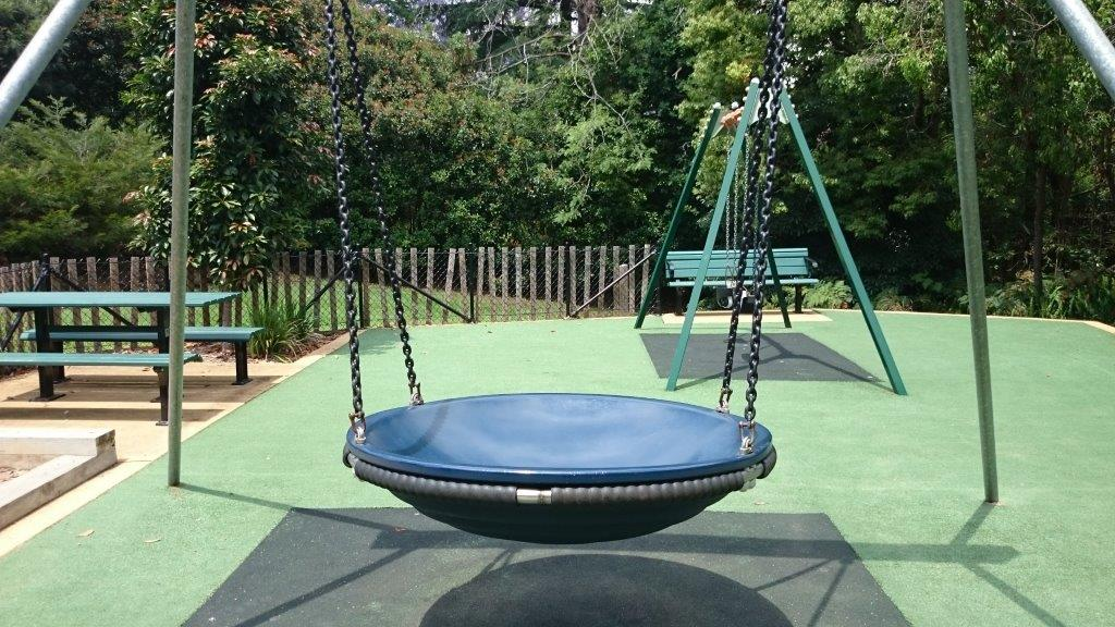 cumulus swing is a huge hit with bigger kids