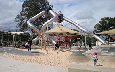 Fairfield Adventure Park – Awesome NEW playground opened in Fairfield, Western Sydney