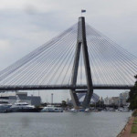 views of Anzac Bridge Glebe