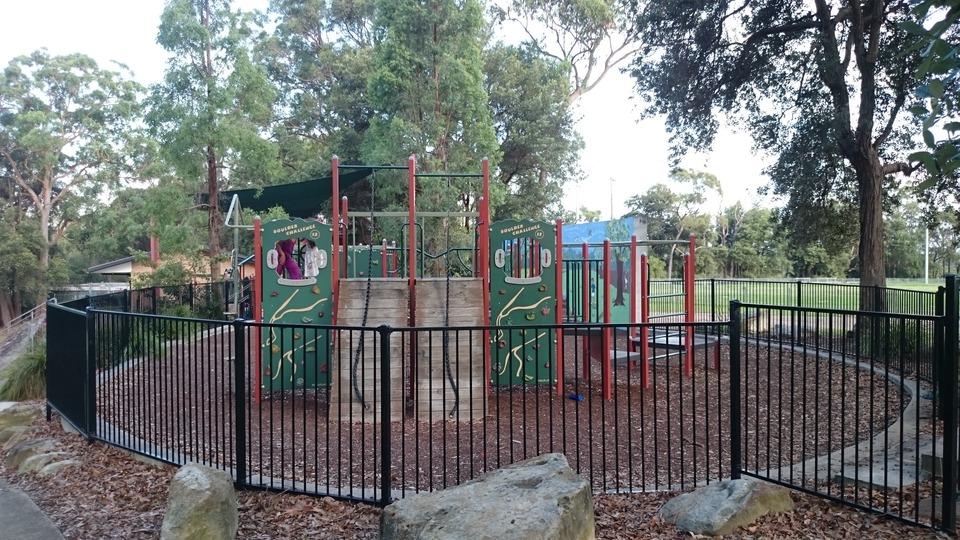 Fully Fenced Playground