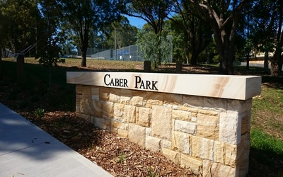 Caber Park Playground – tucked away amongst the side streets in Winston Hills