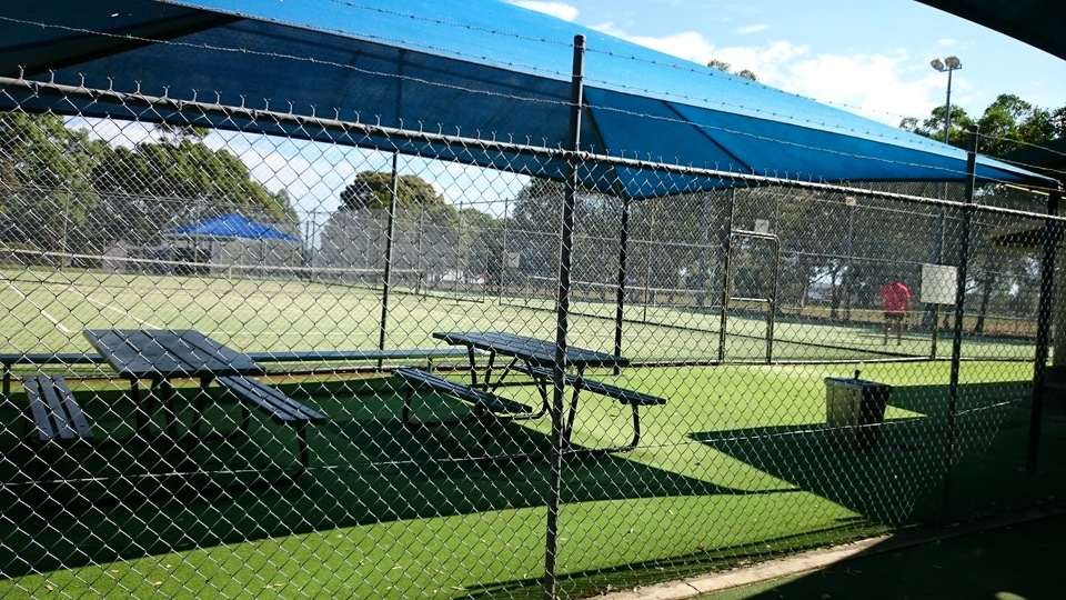 Caber Park tennis courts