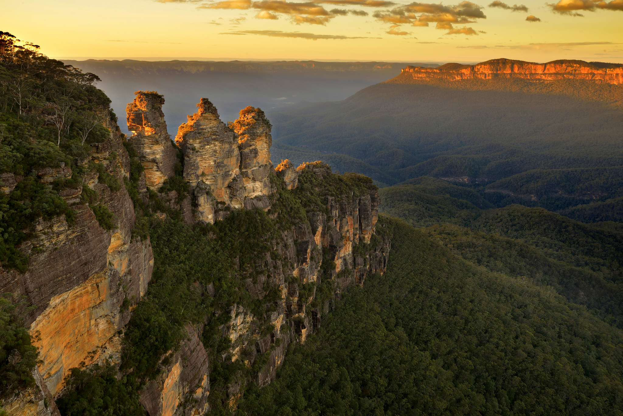 Katoomba Blue Mountains - The Three Sisters