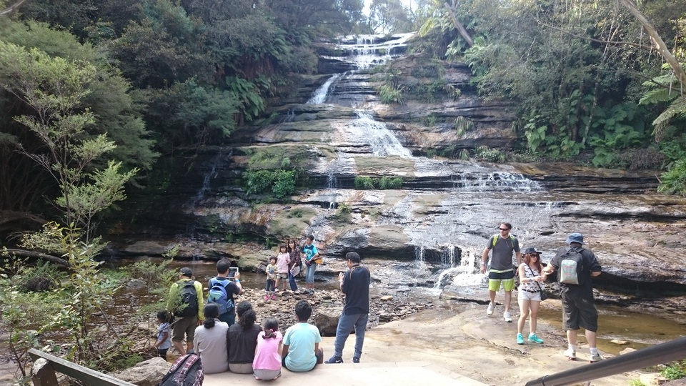 Katoomba Falls at Scenic World