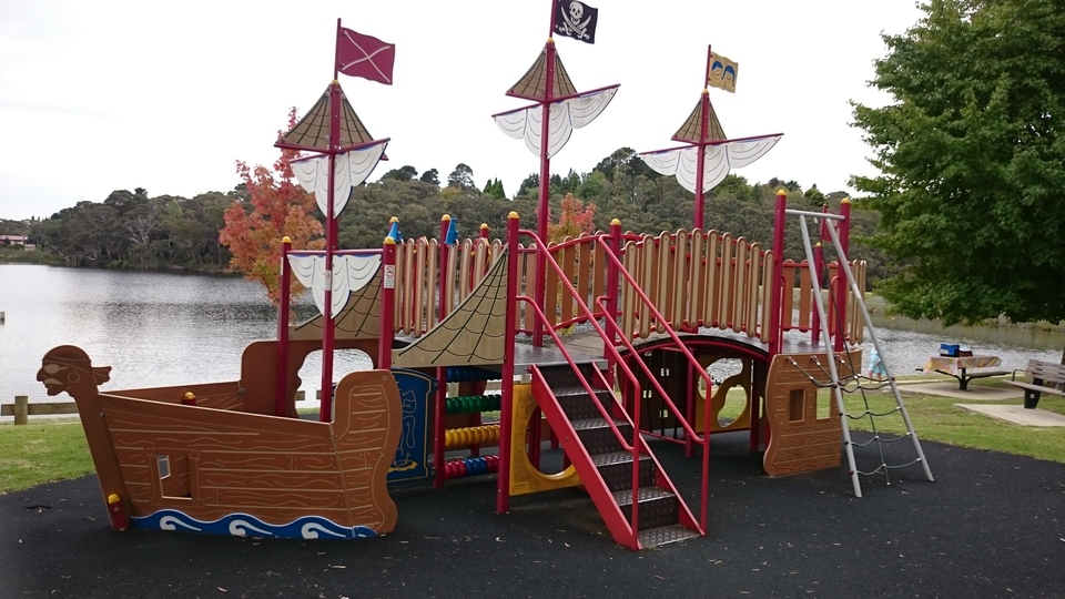 Kids Pirate ship Playground