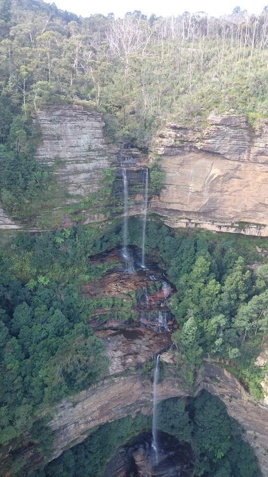 You can see Wentworth Falls from the Skyway ride