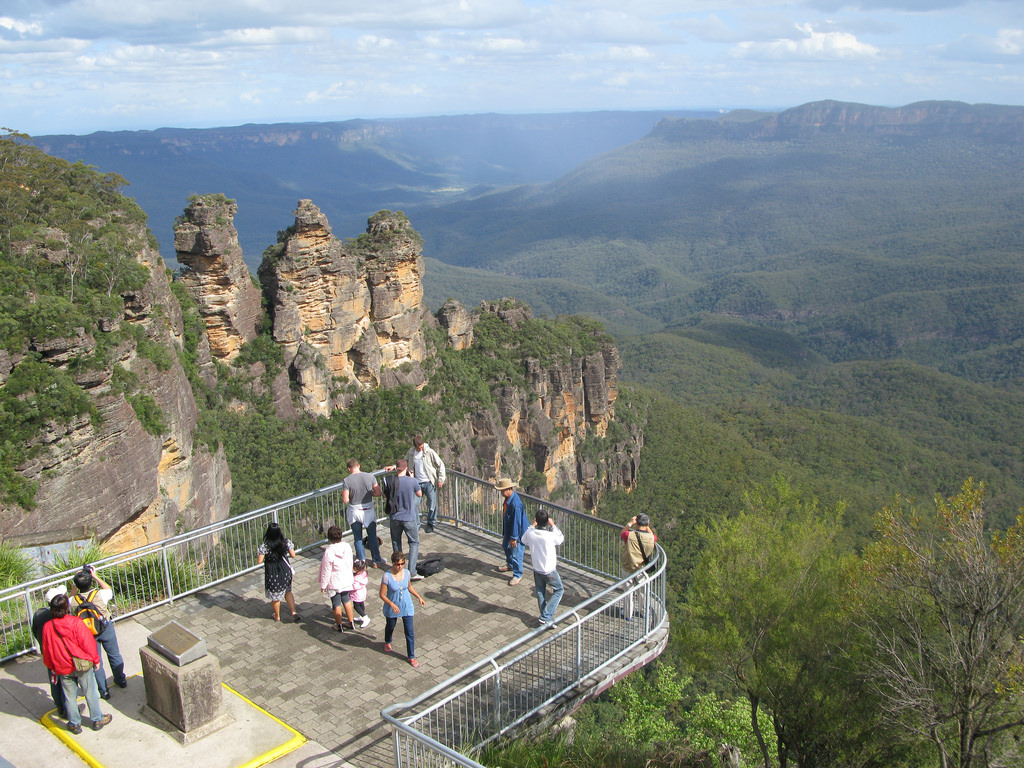 Echo Point Katoomba Blue Mountains