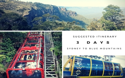 Suggested Itinerary: 3 days Sydney to the Blue Mountain