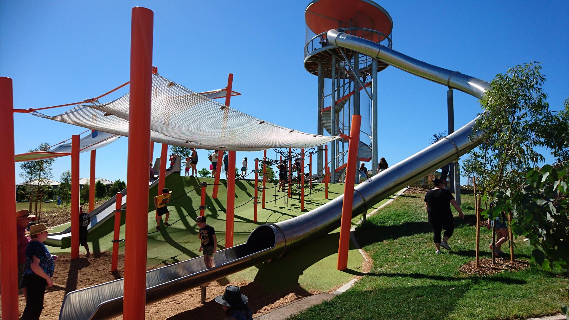 Massive 30 meter slide