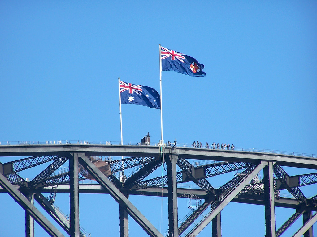 Sydney Harbour Bridge climb to the summit
