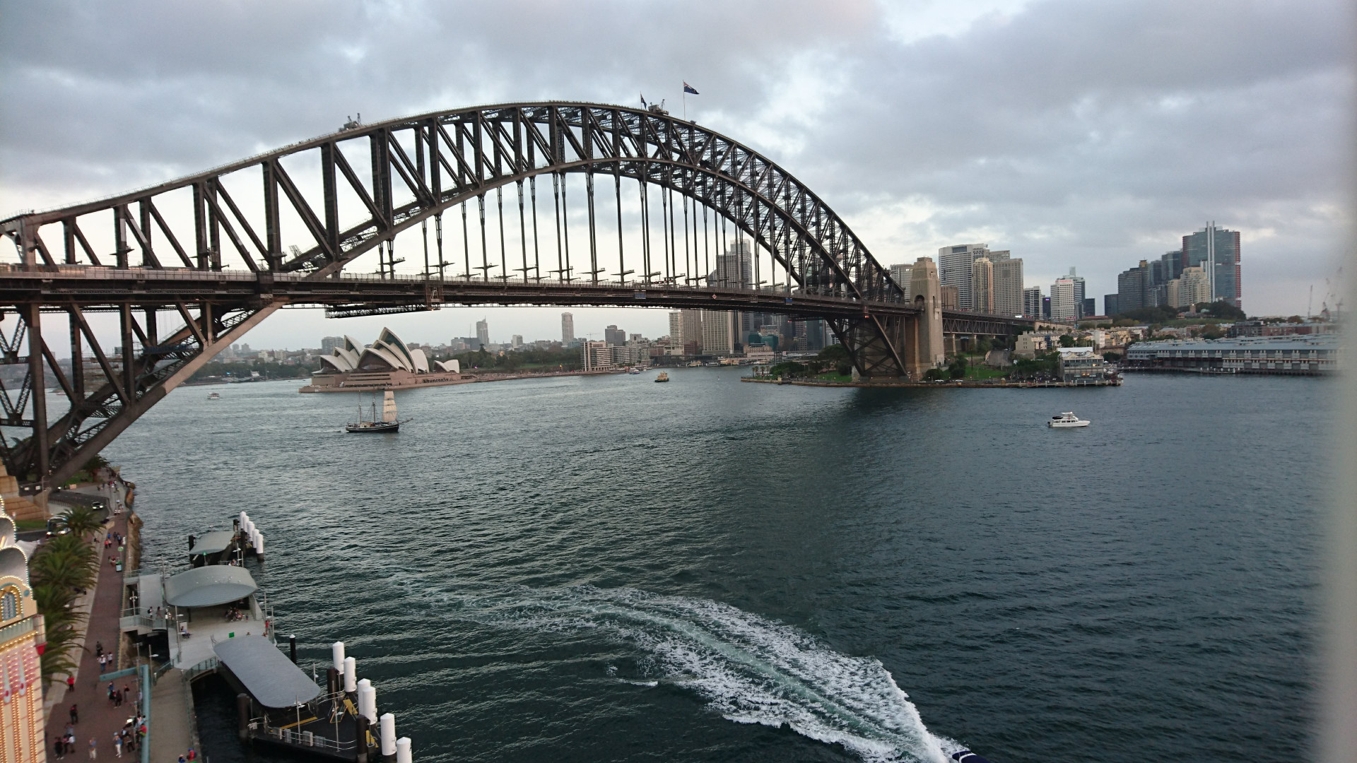 Sydney Harbour Bridge - one of Australia's most famous landmark