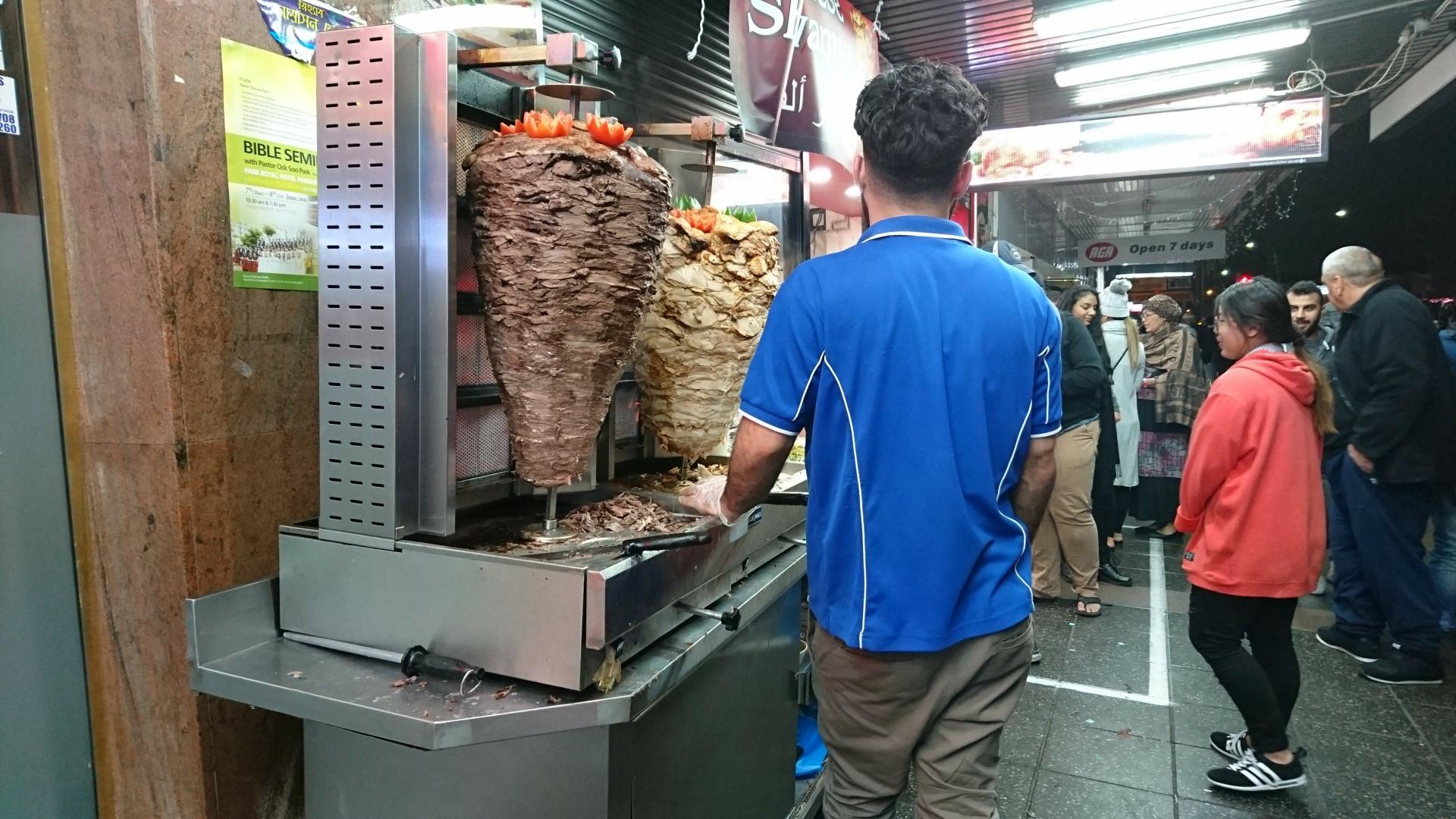 chicken and lamb doner kebab