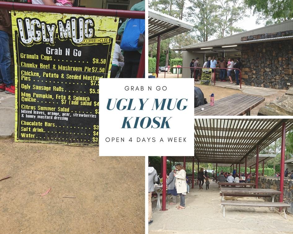Kiosk at Mount Tomah