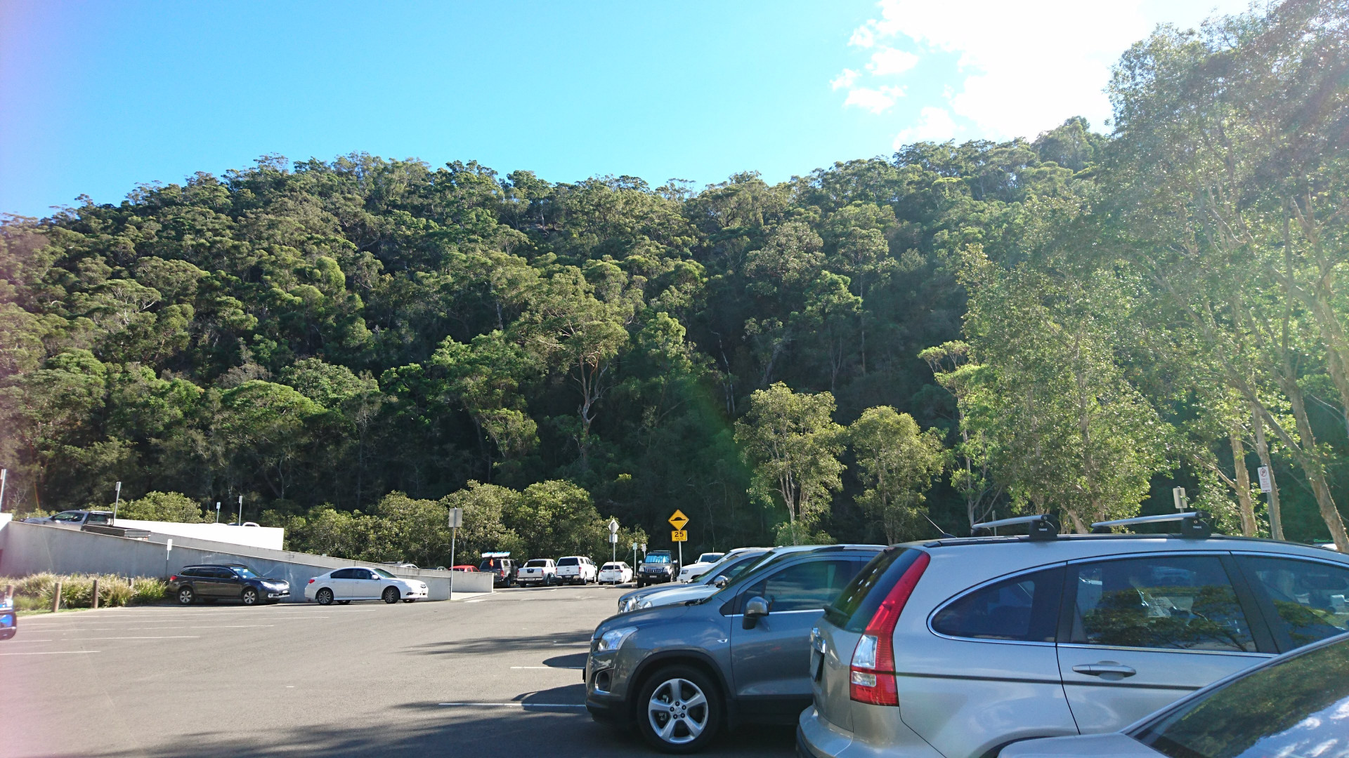 Car parking at Berowra Waters Marina