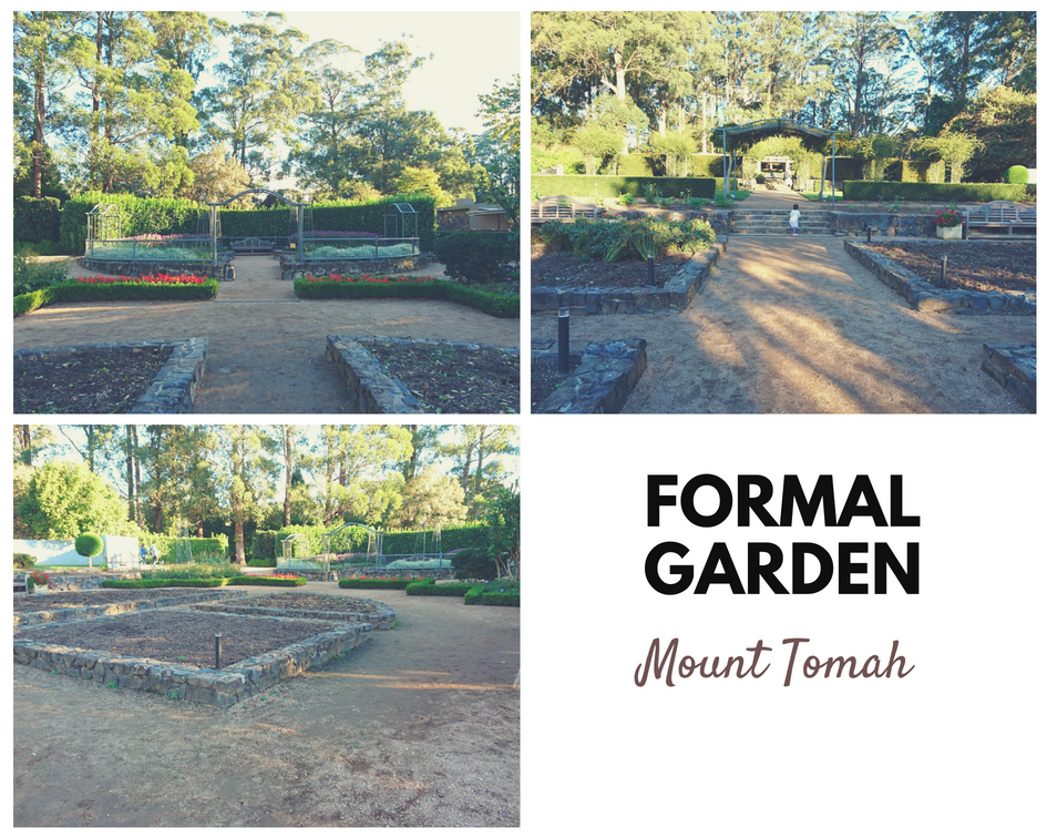 formal garden at Mount Tomah Blue Mountains