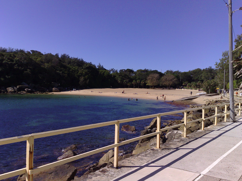 The walk along to Shelly Beach