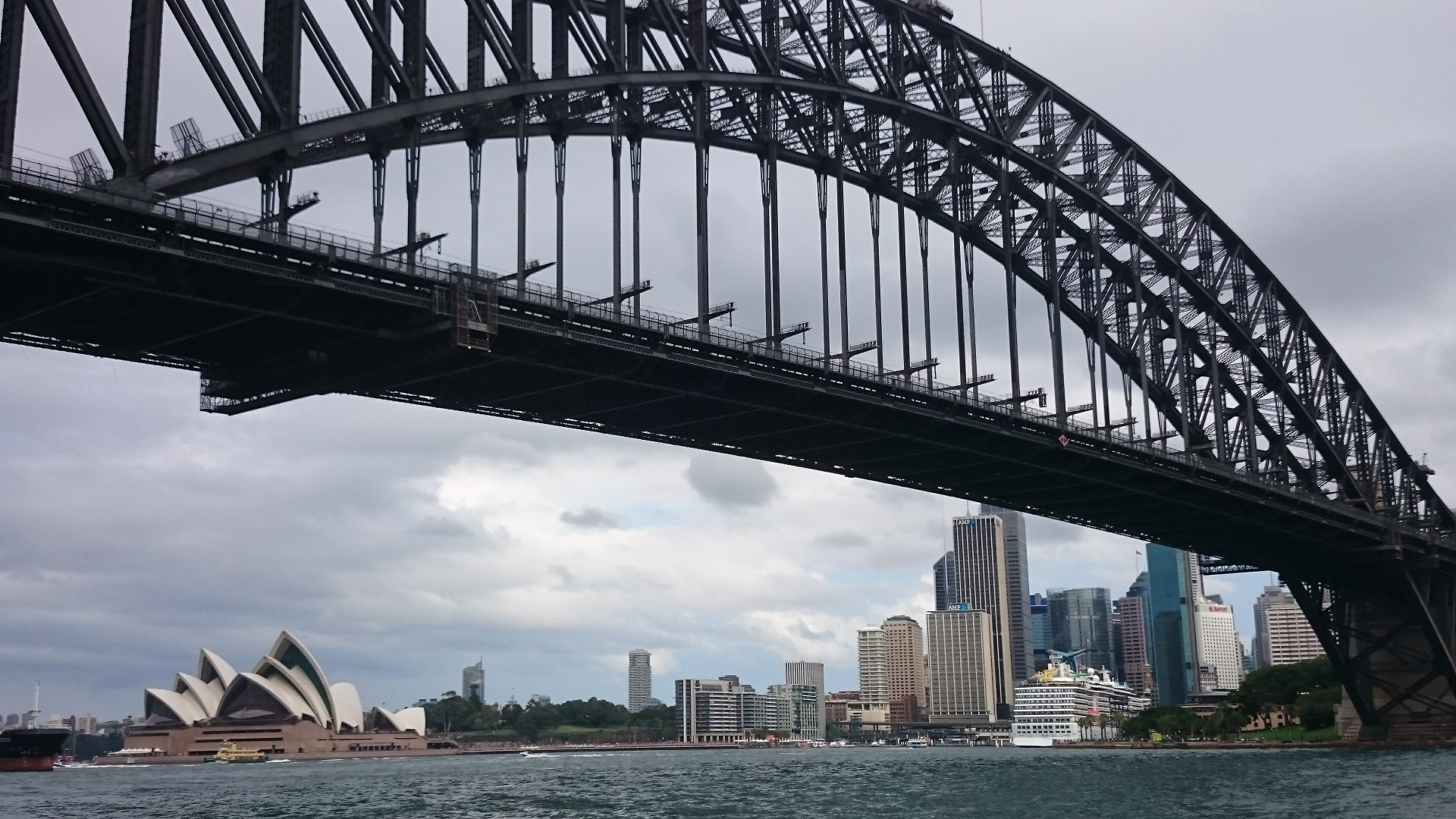 Incredible views of the Sydney Harbour from the Parramatta River Ferry