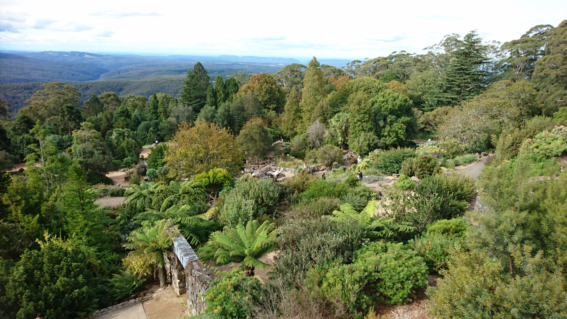more stunning views looking down into the Rock Gardens