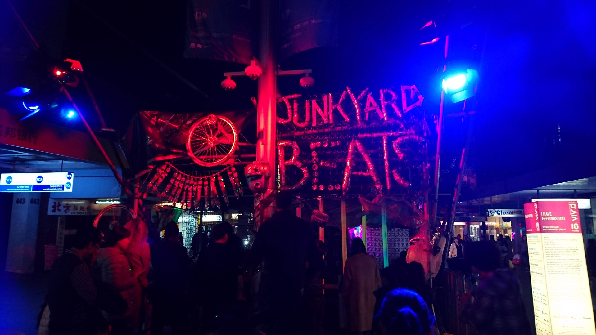 Junkyard Beats made from recycled materials