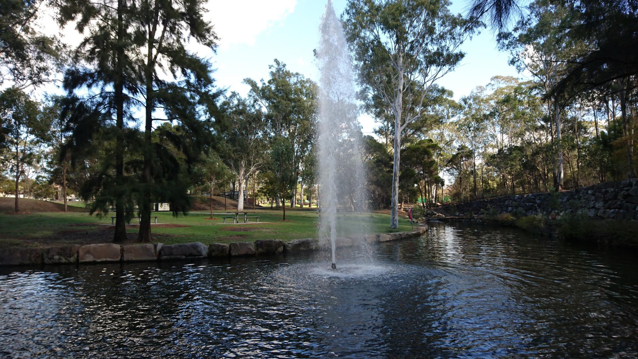 stunning fountains views