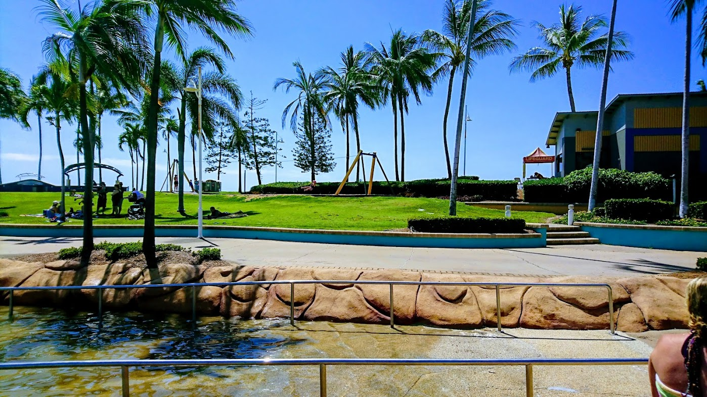 Take a stroll along the Strand at Townsville